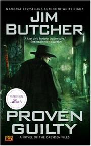Cover of: Proven Guilty (The Dresden Files, Book 8) | Jim Butcher