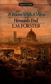 Cover of: A Room with a View and Howards End by E. M. Forster
