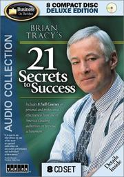 Cover of: Brian Tracy's 21 Secrets to Success by Brian Tracy