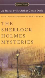 Cover of: The Sherlock Holmes Mysteries by Sir Arthur Conan Doyle