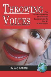 Cover of: Throwing Voices | Guy Senese