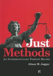 Cover of: Just Methods by Alison Jaggar
