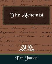 Cover of: The Alchemist | Ben Jonson