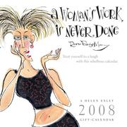 Cover of: A Women's Work Is Never Done 2008 Calendar | Helen Exley