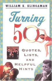 Cover of: Turning 50 | William K. Klingaman