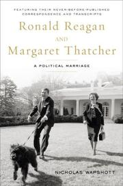 Cover of: Ronald Reagan and Margaret Thatcher by Nicholas Wapshott