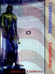 Cover of: Understanding the Constitution by Henry Conserva