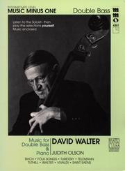Cover of: Music Minus One Double Bass | David Walter