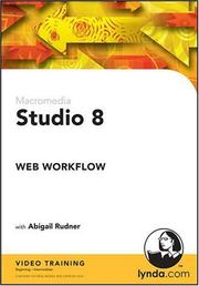 Cover of: Studio 8 Web Workflow | Abigail Rudner