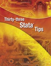 Cover of: Thirty-three Stata Tips by H. Joseph Newton