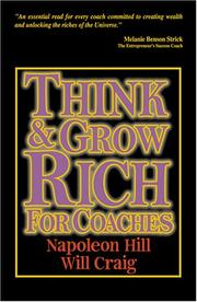 Cover of: Think And Grow Rich for Coaches by Napoleon Hill