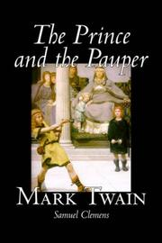 Cover of: The Prince and the Pauper | Mark Twain