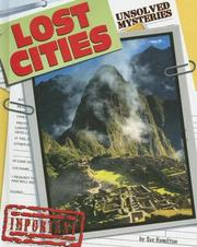 Cover of: Lost Cities (Unsolved Mysteries) | Sue Hamilton