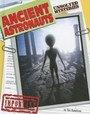Cover of: Ancient Astronauts (Unsolved Mysteries) | Sue Hamilton