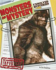 Cover of: Monsters of Mystery (Unsolved Mysteries) | Sue Hamilton