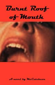 Cover of: Burnt Roof of Mouth | McCutcheon