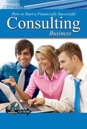 Cover of: How to Open & Operate a Financially Successful Consulting Business - With Companion Cd-Rom | Sandy Baker