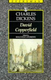 Cover of: The Personal History of David Copperfield by Charles Dickens
