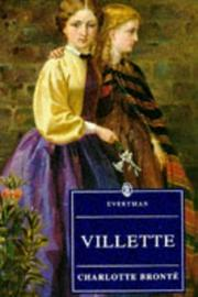 Cover of: Villette by Charlotte Brontë