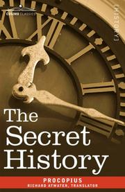 Cover of: Secret history by Procopius
