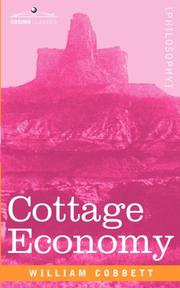 Cover of: Cottage Economy | William Cobbett