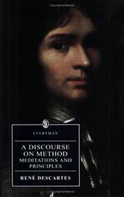 Cover of: A Discourse on Method | René Descartes