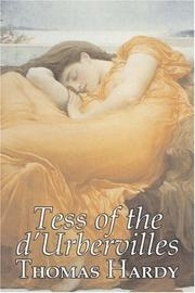 Cover of: Tess of the d'Urbervilles by Thomas Hardy