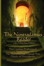 Cover of: The Nostradamus Reader by Lee McCann