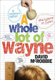Cover of: A Whole Lot of Wayne by David McRobbie