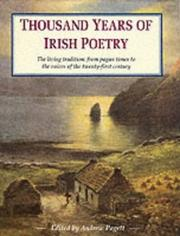 Cover of: Thousand Years of Irish Poetry | Andrew Pagett