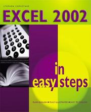 Cover of: Excel 2002 in Easy Steps | Stephen Copestake