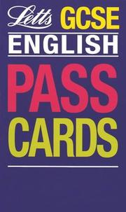 Cover of: GCSE Passcards English (Keyfacts GCSE Passcards) by John Barber