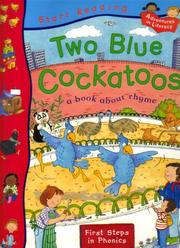 Cover of: Two Blue Cockatoos (Start Reading) | Pie Corbett
