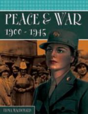 Cover of: Peace and War, 1900-1945 (Women in History) by Fiona MacDonald