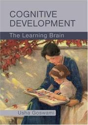 Cover of: Cognitive Development | Goswami