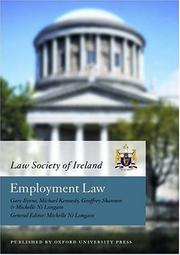 Cover of: Employment Law (Law Society of Ireland Manual) | Law Society of Ireland