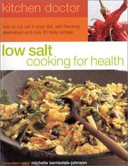 Cover of: Low Salt Cooking for Health by Michelle Berriedale-Johnson