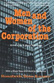 Cover of: Men and women of the corporation | Rosabeth Moss Kanter