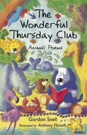 Cover of: Wonderful Thursday Club by Gordon Snell