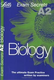 Cover of: A2 Exam Secrets Biology (A2 Exam Secrets) | John Parker