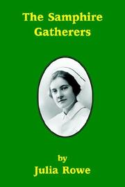 Cover of: The Samphire Gatherers | Julia Rowe