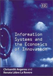Cover of: Information systems and the economics of innovation | Chrisanthi Avgerou