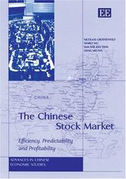 Cover of: The Chinese Stock Market | Yanrui Wu