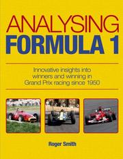 Cover of: Analysing Formula 1 | Roger Smith