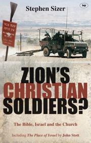 Cover of: Zion's Christian Soldiers? | Stephen Sizer