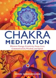 Cover of: Chakra Meditation | Swami Saradananda