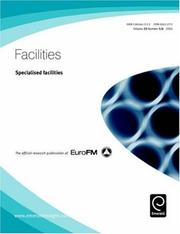 Cover of: Specialised Facilities | Edward Finch