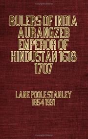 Cover of: Rulers Of India | Stanley Lane-Poole