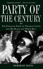 Cover of: Party of the Century by Deborah Davis