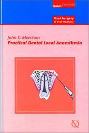 Cover of: Practical Dental Local Anaesthesia | John G. Meechan